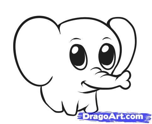 483x394 Easy Cartoon Animal Drawings