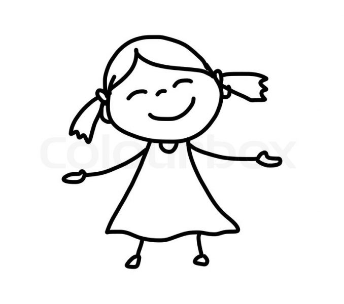 678x600 Kids Cartoon Drawings Easy Cartoon Drawings Free Download Clip Art