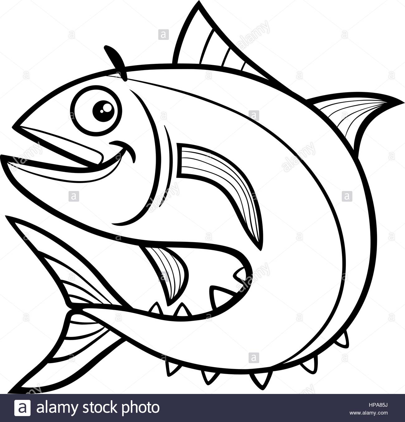 Cartoon Drawing Fish at GetDrawings.com | Free for personal use ... for Dried Fish Clipart Black And White  66pct
