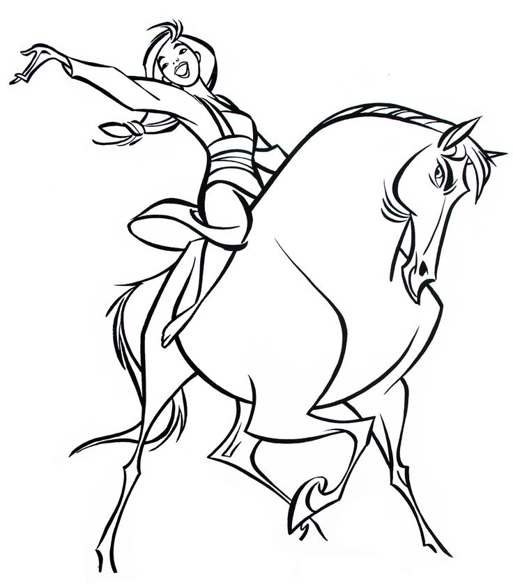 736x842 Horse Cartoon Characters Collection