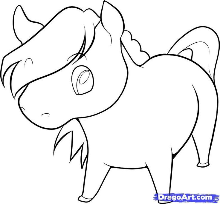 736x684 The Best Horse Cartoon Drawing Ideas On Easy