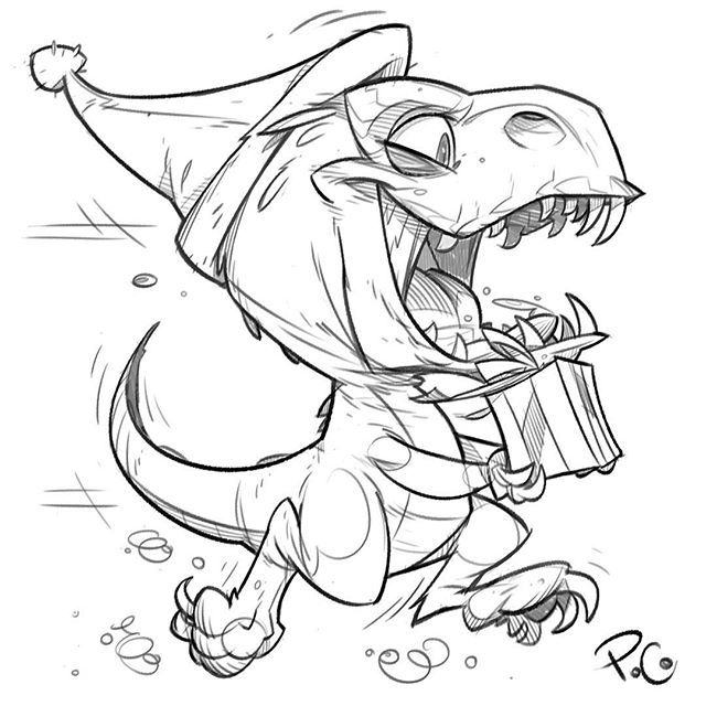 640x640 Drawing Dinosaur Cartoon Drawing In Conjunction With Cartoon