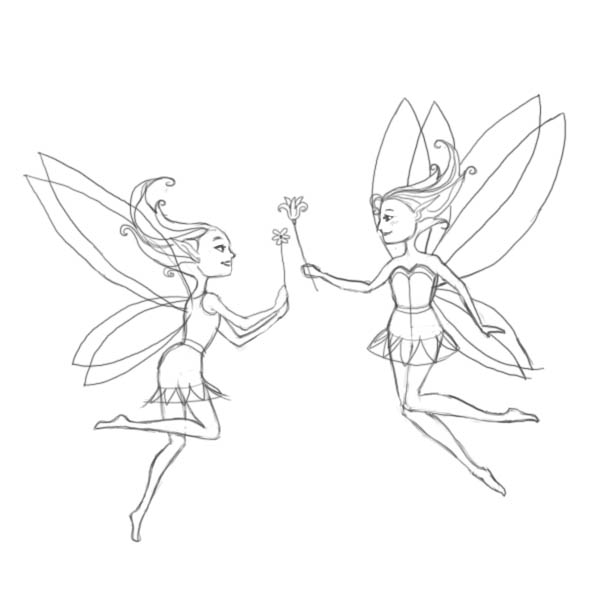 600x600 How To Draw Fairies