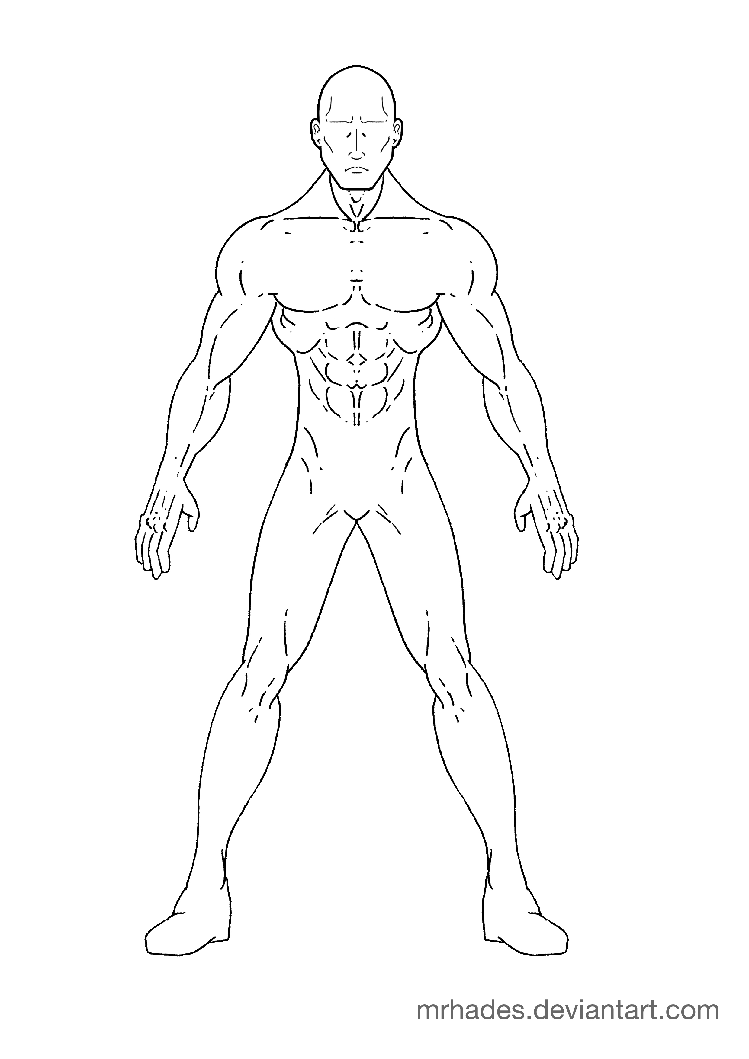 2480x3508 X Men Comic Drawing Outlines