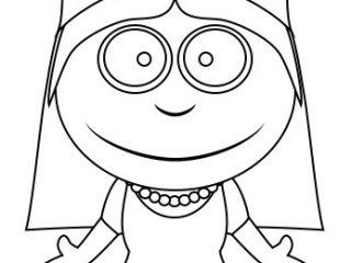 320x240 Simple Princess Drawing Drawing A Princess Cartoon Little Boy