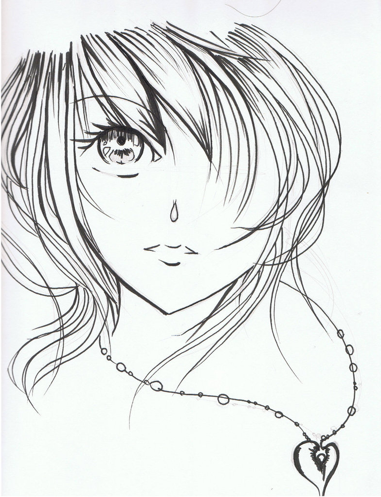 783x1020 Beautiful Drawings Of Cartoons How To Draw A Pretty Girl Cartoon
