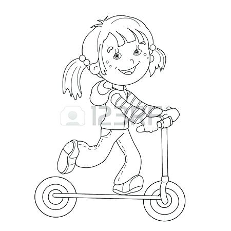 450x450 Cartoon Girl Coloring Pages Girls Coloring Pages Girl Cartoon