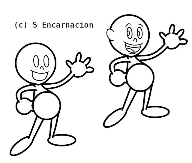 640x543 Drawing Line Drawings Of Cartoon Characters As Well As Cool