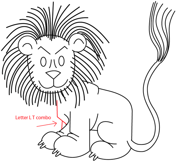 Cartoon Drawing Of A Lion At Getdrawings Com Free For Personal Use