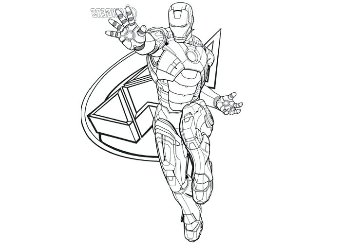 700x500 Printable Ironman Coloring Pages Cartoon Coloring Page Iron Man