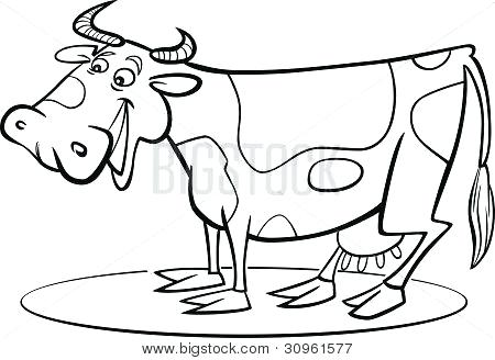 450x328 Cow Coloring Book Also Cow Coloring Pages 48
