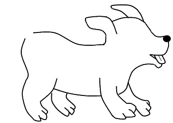 350x250 How To Draw A Dog