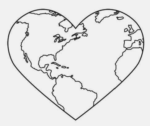 Cartoon Drawing Of Earth