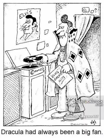 400x530 Elvis Cartoon Elvis Cartoon