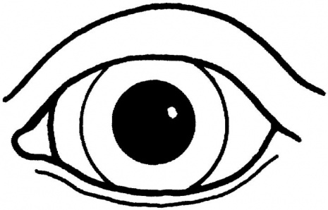 465x298 Eyes Coloring Page Cartoon Pages Best