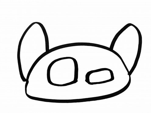 496x372 How To Draw A Cute Cartoon Cat Easy Step By Step For Kids