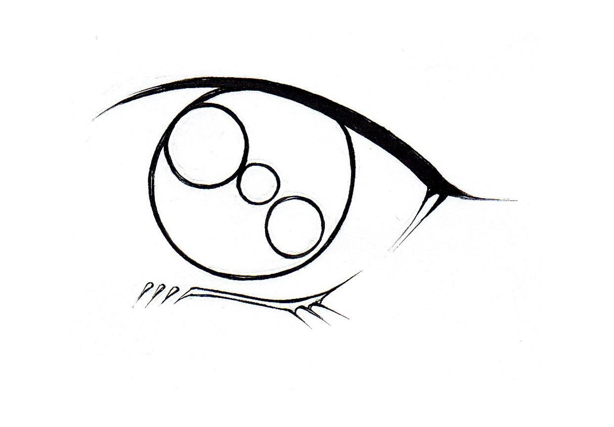 1242x864 Anime Eyes To Draw Best Cartoon Eyes Ideas