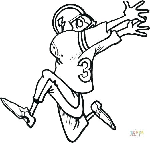 zombie football player coloring pages - photo#42