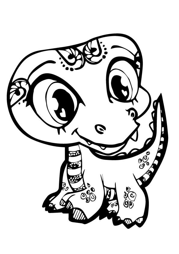 595x842 Butfl Aminel Coloring Pages For Girls In Good Print Draw