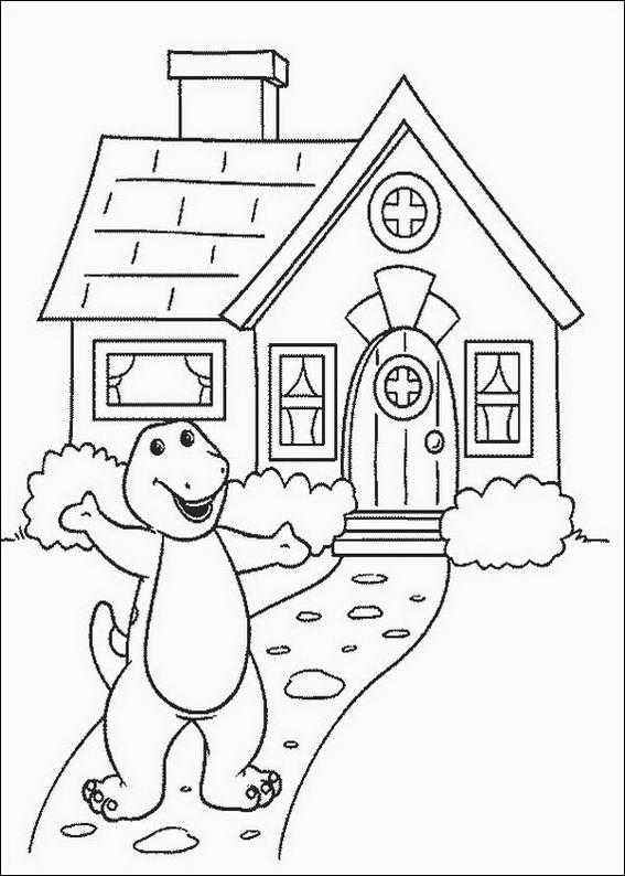 Cartoon Drawing Of House