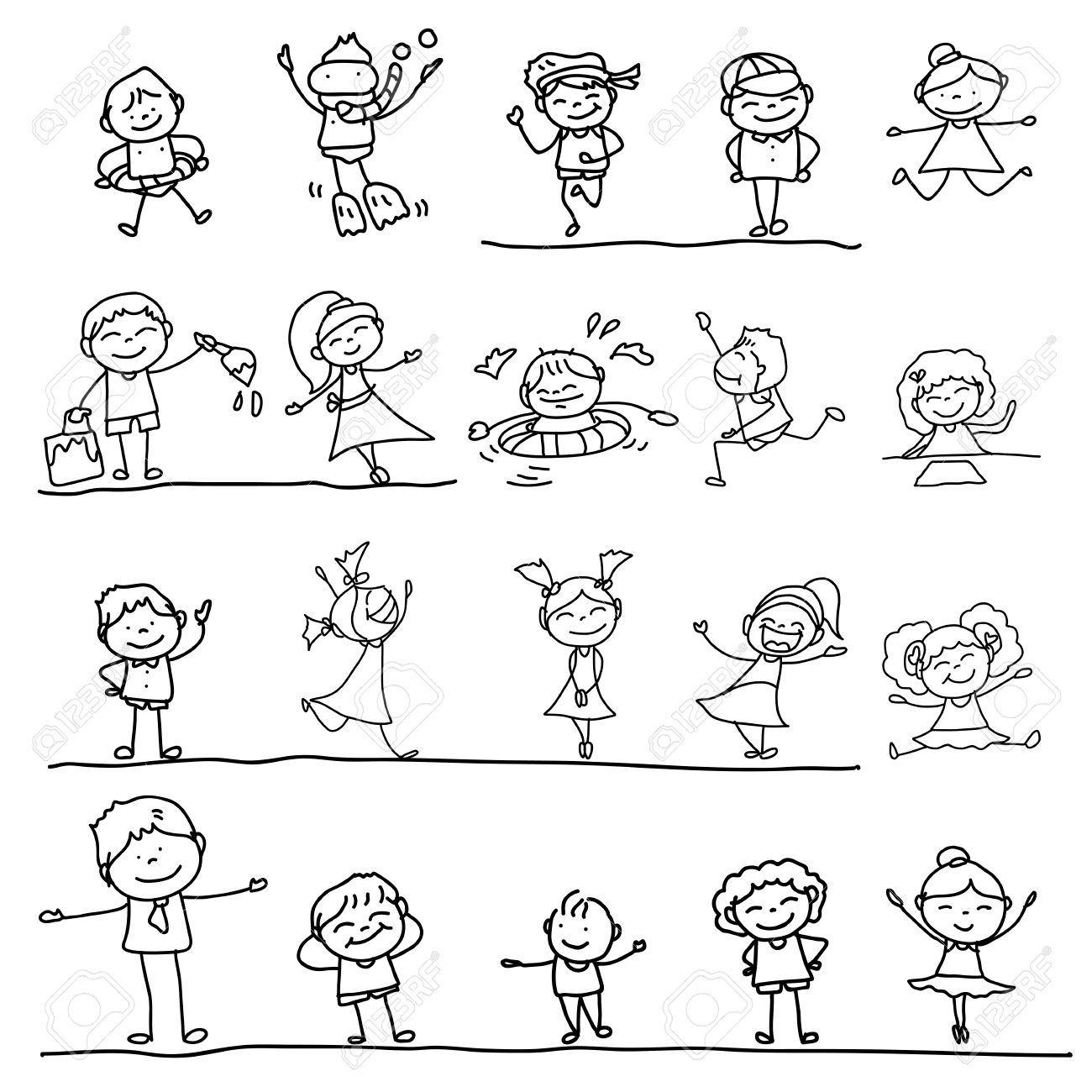 1300x1300 Family Drawing Stock Photos. Royalty Free Business Images