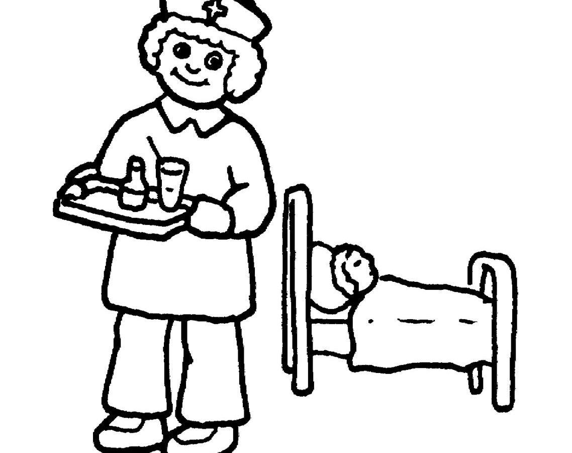 1138x900 Vector Of Cartoon Nurse Giving Patient Medication Nurses Day