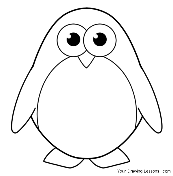 600x609 Cute Baby Animal Coloring Pages Dragoart