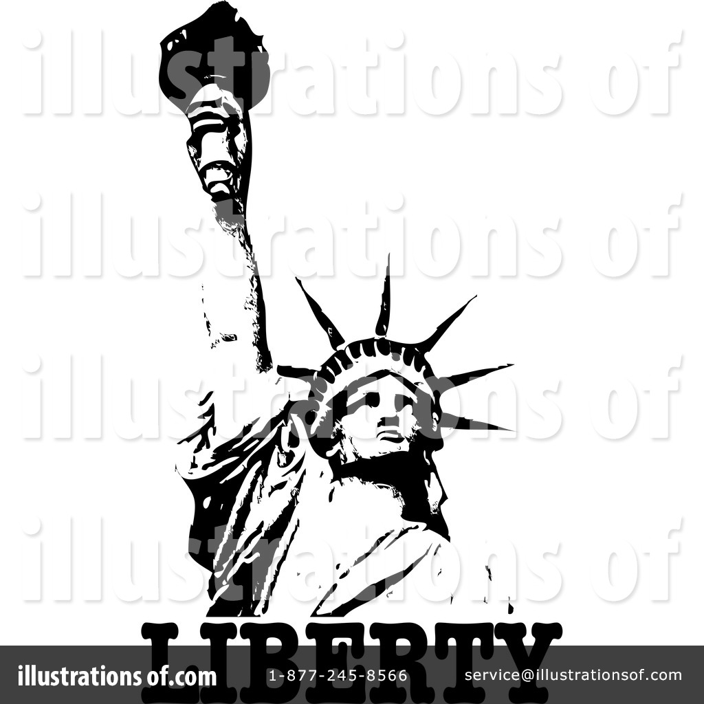 1024x1024 Statue Of Liberty Clipart Graphic