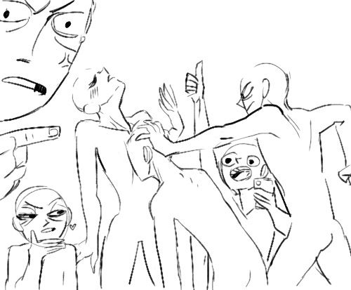 500x413 Draw The Squad Chest Face Plant 6 People Draw The Squad Know