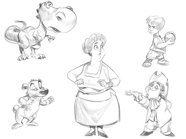 600x450 How To Draw A Cartoon Body On Behance