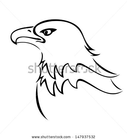 428x470 Homey Design Bald Eagle Outline Cartoon Free Vector Download 14