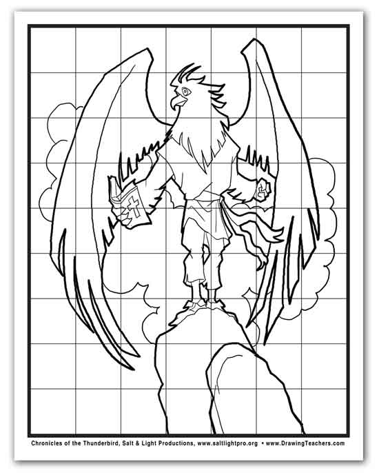 550x686 How To Draw A Cartoon Eagle