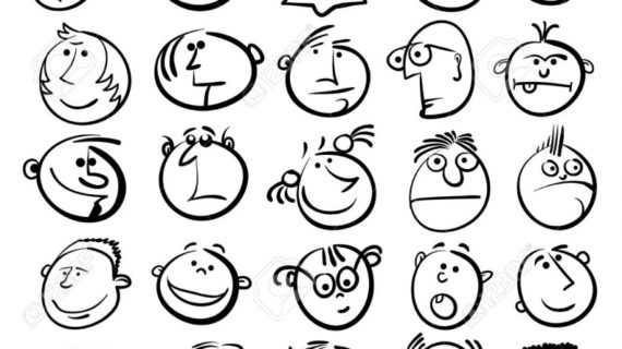 570x320 drawing cartoon faces drawing how to draw easy cartoon faces step