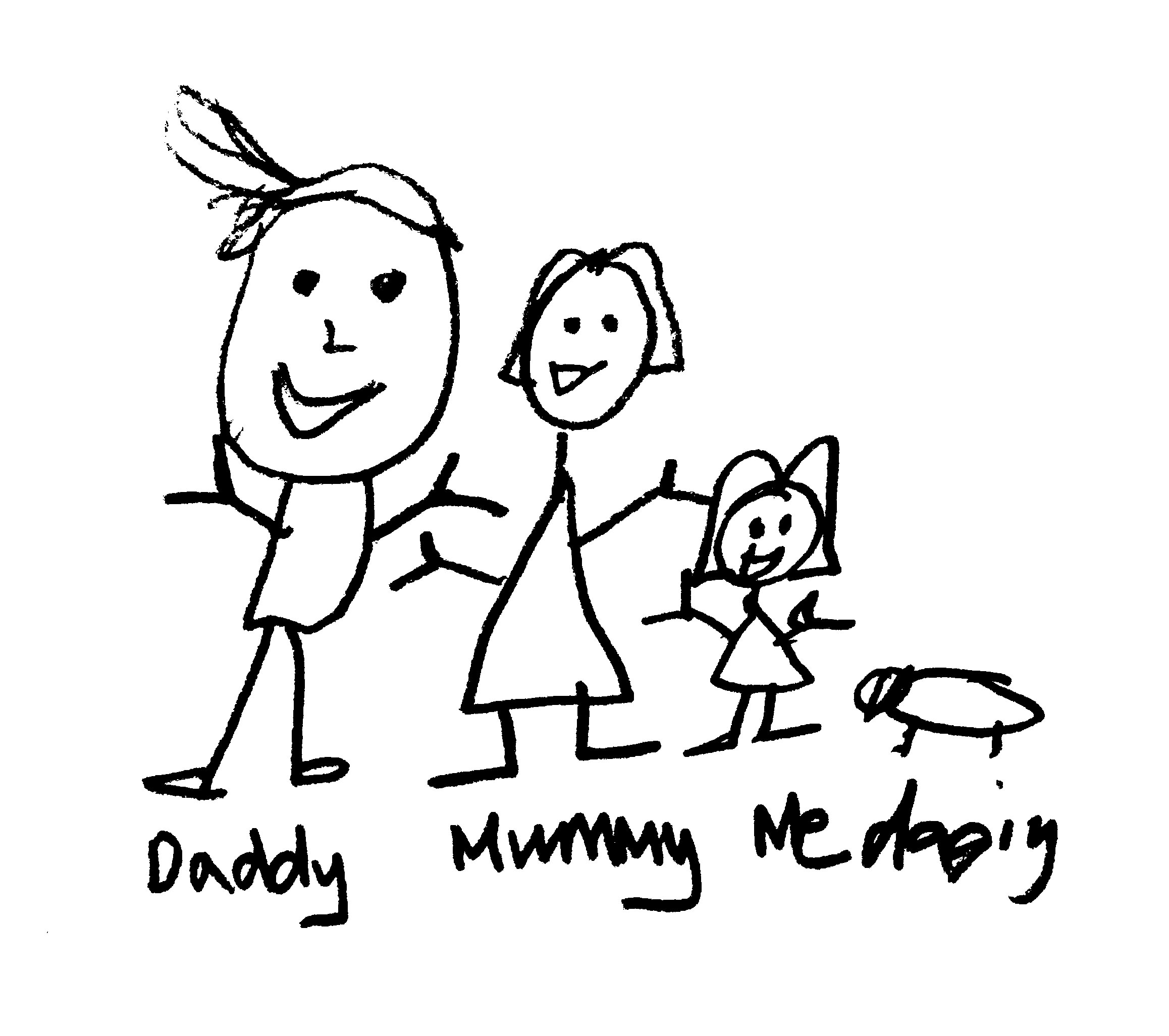 cartoon family drawing at getdrawings com free for personal use