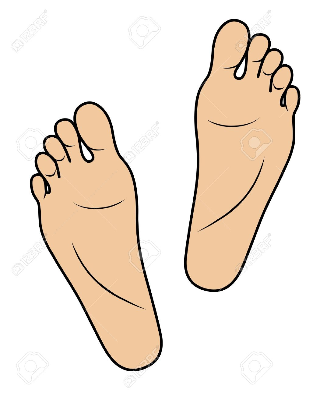 1074x1300 Cartoon Foot Clipart Foot Clipart