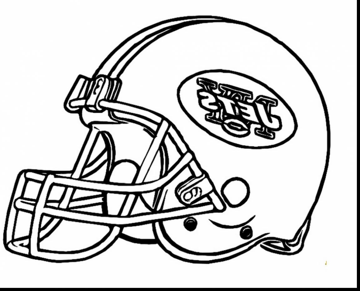 1152x932 Football Helmet Coloring Pages