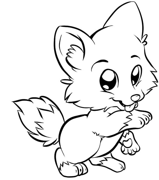 Cartoon Fox Drawing at GetDrawingscom Free for personal use