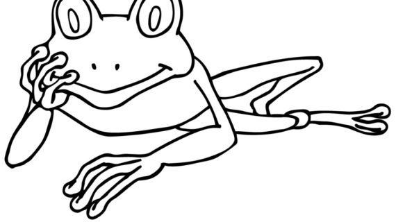 570x320 Drawings Of Frogs Cartoon Frog Drawings Clipartsco