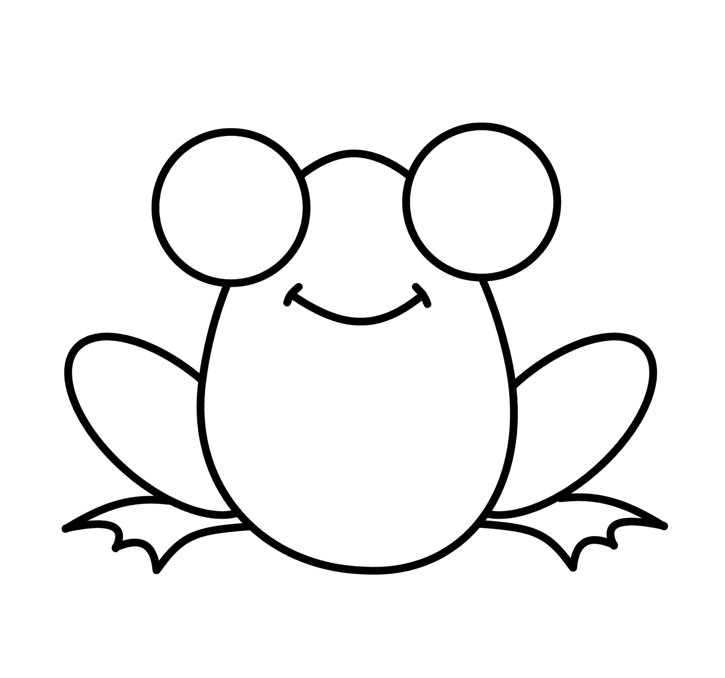 1420x1327 How To Draw Cartoons Frog Drawing Frogs, Cartoon