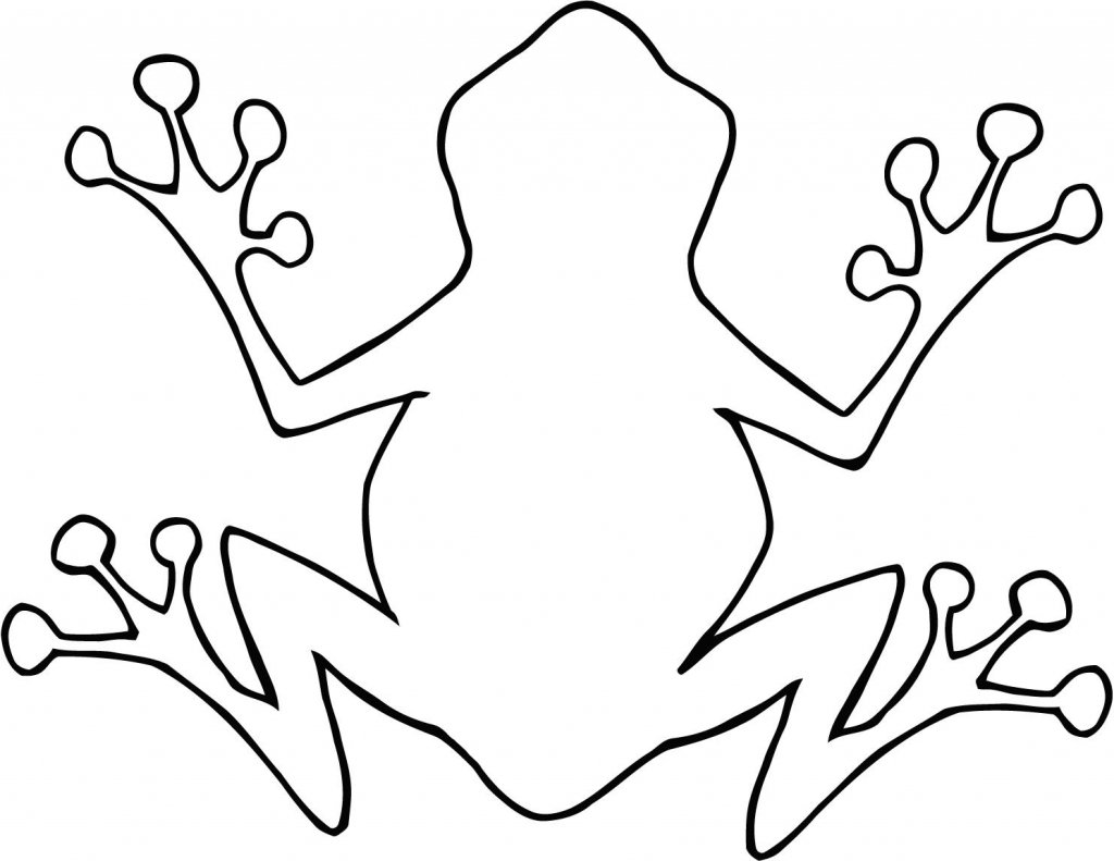 1024x791 Simple Drawing Of A Frog