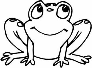 320x238 Frog On A Stick Jumps From Lily Pad To Lily Pad Which Are Arranged