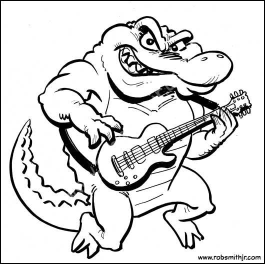 530x528 June 27th, 2014 Today On The Drawing Board Gator Guitar