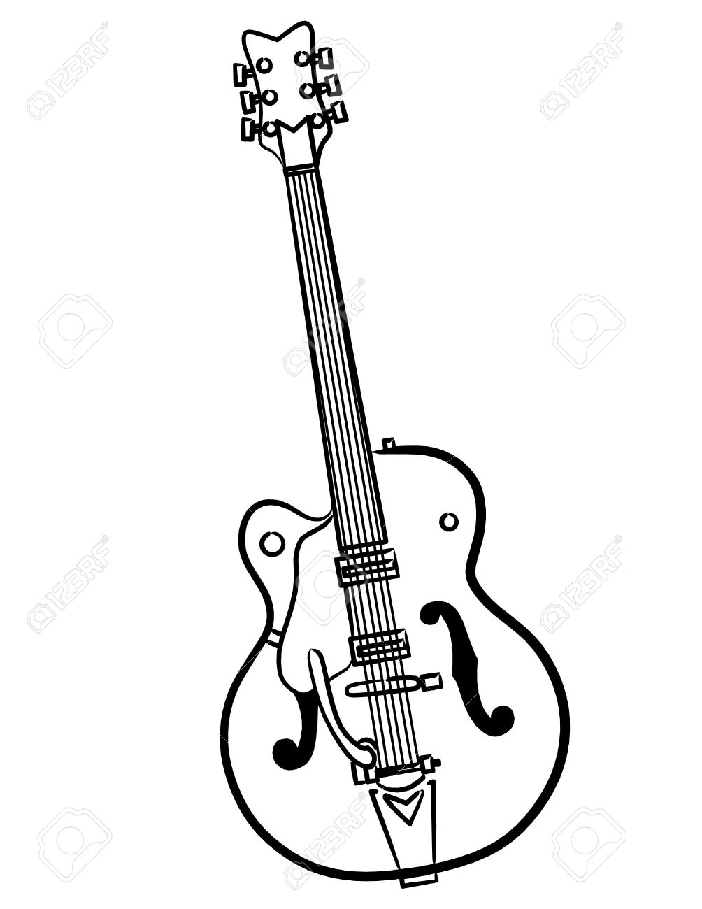 1004x1300 Simple Drawing Of A Guitar A Simple Electric Guitar Line Art