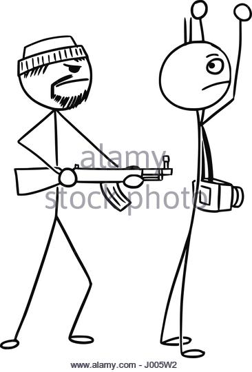 366x540 Cartoon Illustration Hand Holding Gun Stock Photos Amp Cartoon