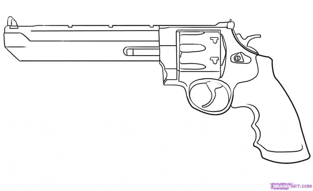 1024x624 Cartoon Gun Drawings