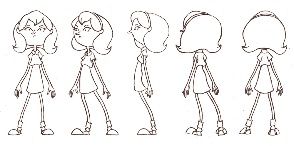 1000x498 Creating A Character Turnaround Sheet Simple Art Tips
