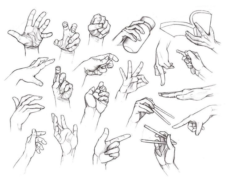 Cartoon Hand Drawing