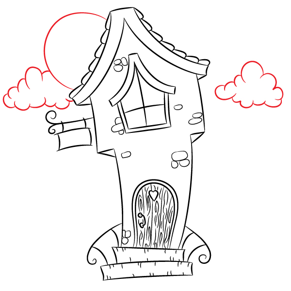 600x600 How To Create A Gnome House Cartoon Illustration