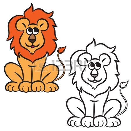 450x450 Lion Drawing Stock Photos. Royalty Free Business Images