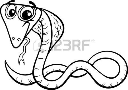 450x316 Cartoon Illustration Of Funny Iguana Lizard Reptile Animal